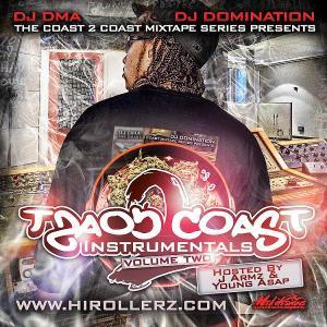 Coast 2 Coast Instrumentals Vol. 2 - CoverSmall