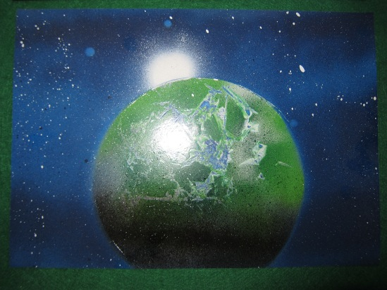 Green Planet Blue Space